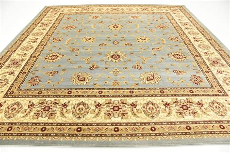 10 square rugs blue light blue 10 x 10 voyage square rug area rugs