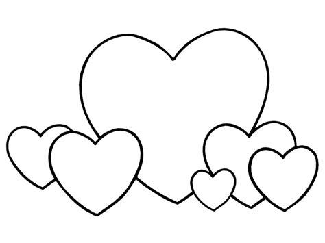imagenes para colorear de corazones corazones para colorear