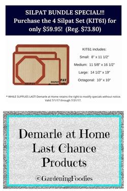 demarle at home last chance on products direct sales