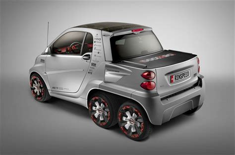 smart ed car smart fortwo ed with two wheels by rinspeed
