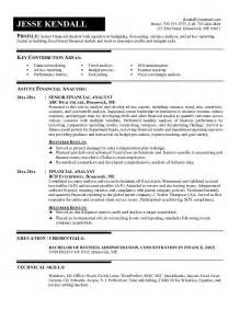 Sample Resume Financial Analyst example financial analyst resume free sample