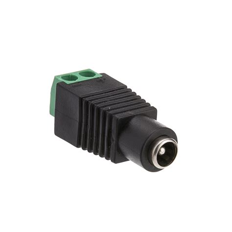Dc Power Dc 2 Pin dc power connector with terminals