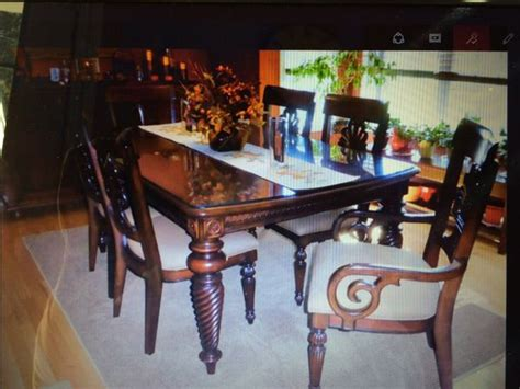 beautiful tommy bahamalexington furniture dining table   chairs  sale  east hampstead