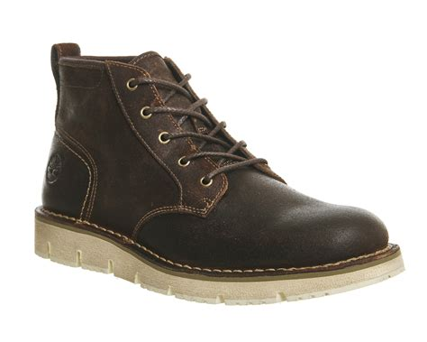 mens timberland westmore chukka brown suede boots