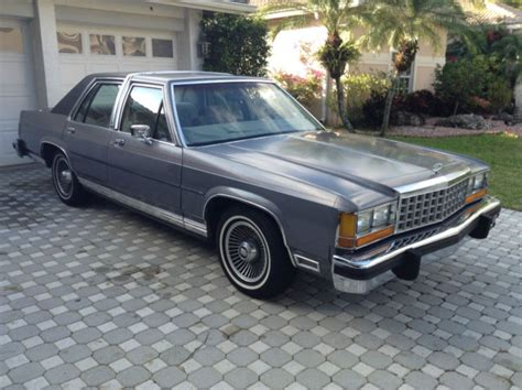 1985 Ford Ltd by Ford Ltd Crown 1985 Ford Ltd Crown