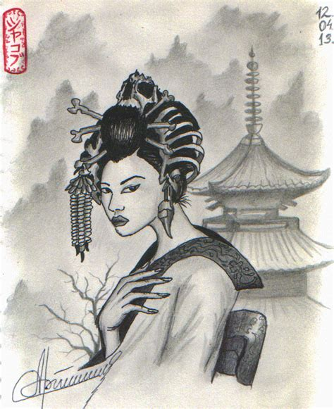 geisha japan by orlan 21 on deviantart
