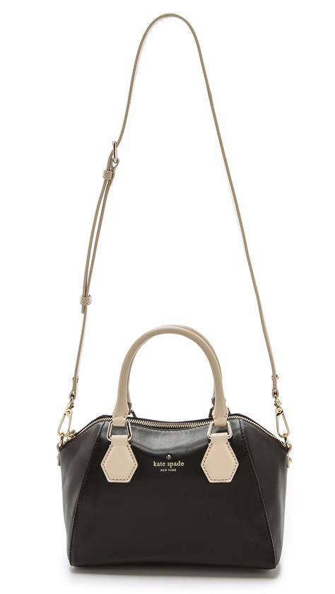 Kate Spade Mini kate spade mini pippa cross bag in black lyst