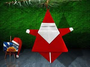 Chrismas Origami - origami santa claus by matsuno yukihiko