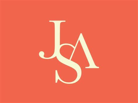 design a monogram logo jsa monogram logo design business pinterest