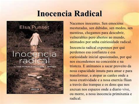 inocencia radical radical libros de psicolox 237 a recomendados por iris molina