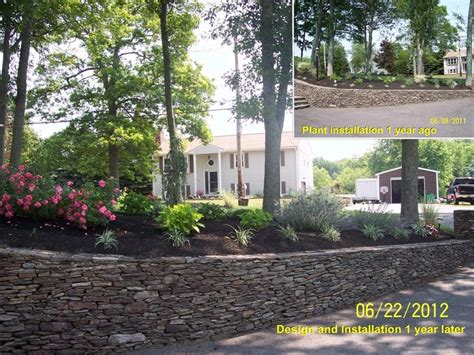 Landscaping Taunton Ma 1000 Images About Front Yard Landscape Construction On