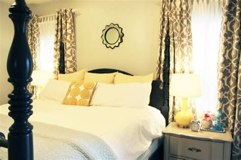 yellow and gray bedroom curtains love it keep it gray and yellow the girl in
