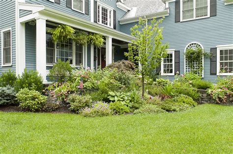 Garage Makeovers by Foundation Plantings Are Essential Elements Of Landscape