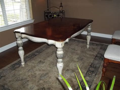 refurbished dining room tables custom furniture antique refinishing traditional