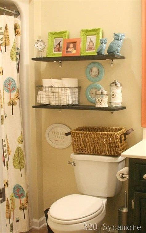 Bathroom Shelving Ideas Bathroom Ideas Pinterest Bathroom Shelves Decorating Ideas