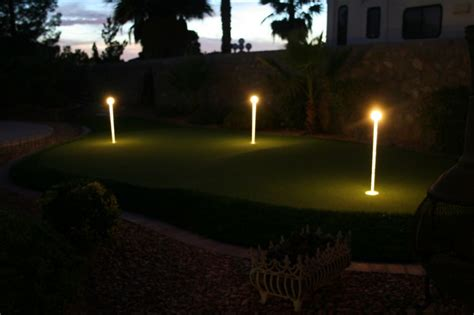 putting green lights 3 pack yardbright landscape