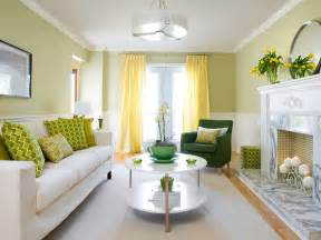 Yellow And Green Living Room Walls Yellow And Green Living Room Contemporary Living Room