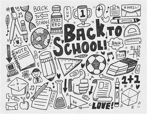 doodlebug academy dessiner doodle 233 cole 233 l 233 ment image vectorielle