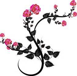 decorative flowers free vector graphic decorative floral flourish free