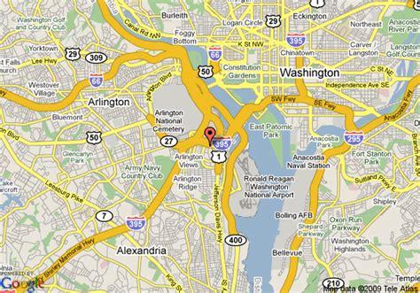 washington dc map pentagon map of residence inn pentagon city arlington