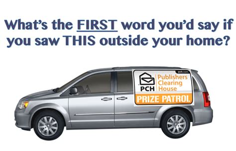 Where Is Pch Prize Patrol - myths of the pch prize patrol van pch blog