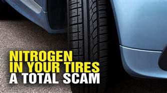Does Nitrogen In Car Tires Help Nitrogen In Car Tires Is Total Junk Science Scam