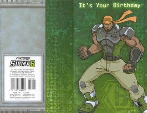 printable gi joe birthday cards yojoe com g i joe sigma 6 birthday card 2006 7