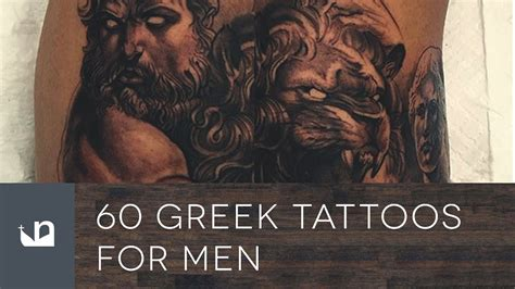 greek tattoos for men 60 tattoos for