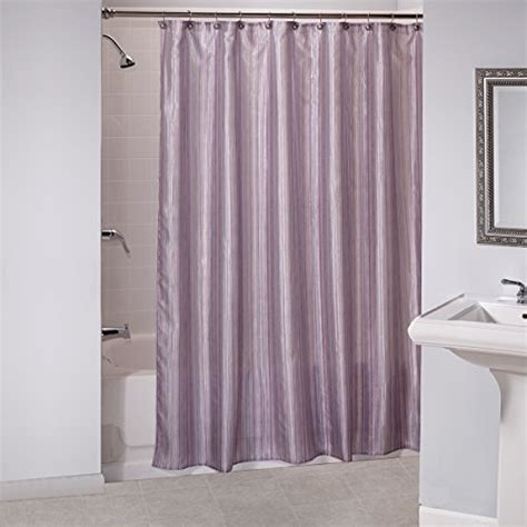 shimmer shower curtain shimmer stripes purple fabric shower curtain