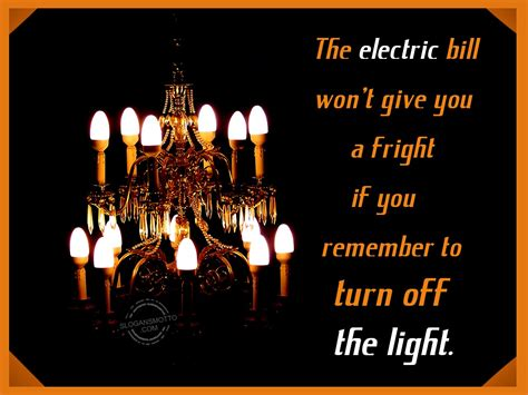 Save Electricity Slogans The Light Company