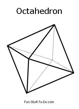 how to draw octagonal prism