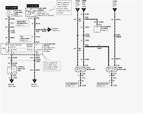 headlights wiring diagram wiring diagram with description