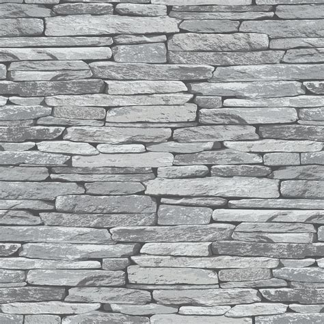 feature wallpaper for grey walls slate stone wall effect wallpapers modern feature wall