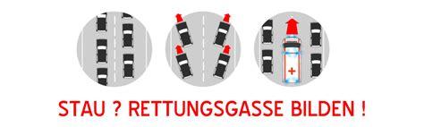 Bei Stau Rettungsgasse Bilden Aufkleber Kostenlos by Dfeug Und Wiesbaden112 Starten Kagne Zur Rettungsgasse