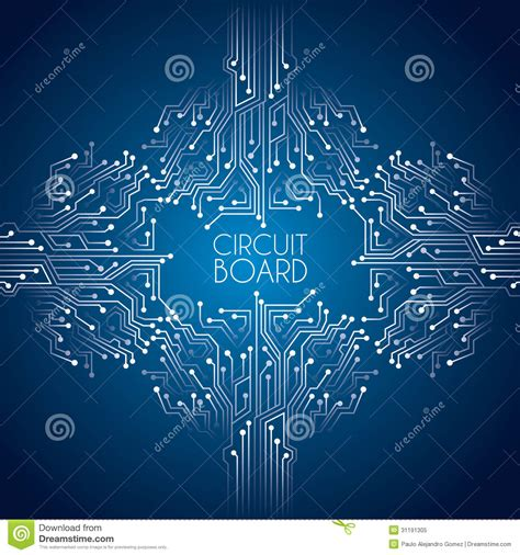 circuit board background protium design circuit board stock vector image of backdrop conceptual