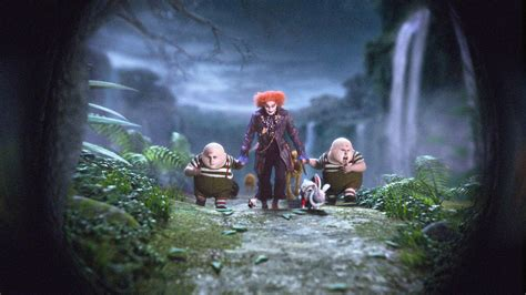 film fantasy tim burton new featurette and images from alice in wonderland shared