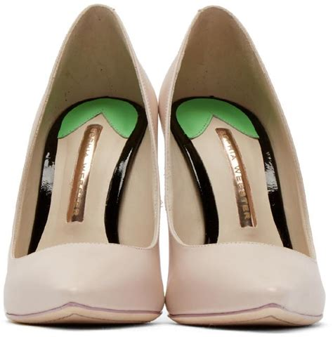 webster pink coco flamingo pumps in pink lyst