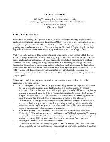 Letter Of Intent Sle Board Of Directors Appendix 1 Letters Of Intent For The Board Of Directors Doczine