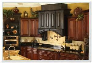 Ideas For Decorating Above Kitchen Cabinets ideas for above kitchen cabinet decor home and cabinet reviews