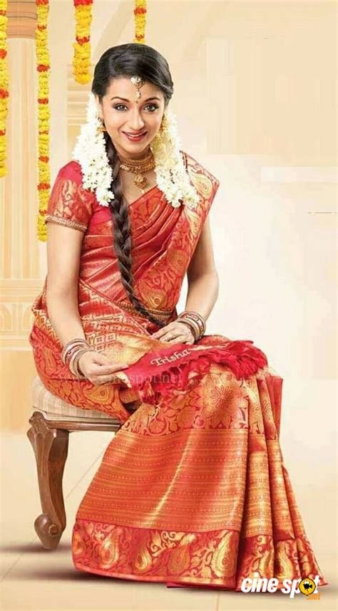sai lokur birthday date trisha krishnan in bridal wear photos 3