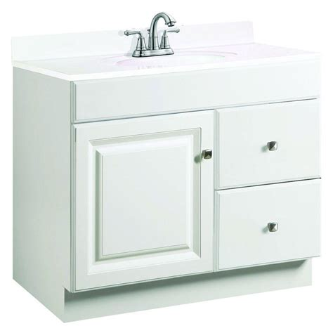 design house wyndham vanity design house wyndham 36 in w x 18 in d unassembled