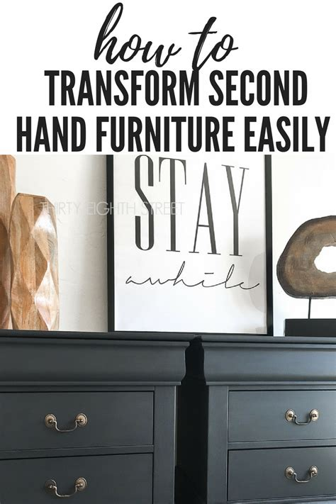 Second Hand Furniture Store how to transform second hand furniture easily thirty