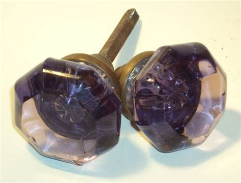 Purple Glass Door Knobs The World S Catalog Of Ideas