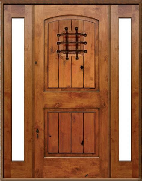 Knotty Alder Exterior Doors Pictures For Design Master Doors Llc In Ut 84070