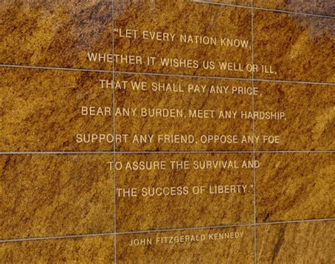 jfk quotation outside soldier field, chicago il: larry