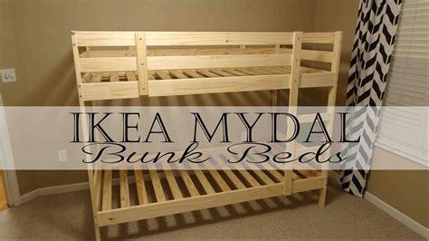 Mydal Bunk Bed Review Ikea Mydal Bunk Beds