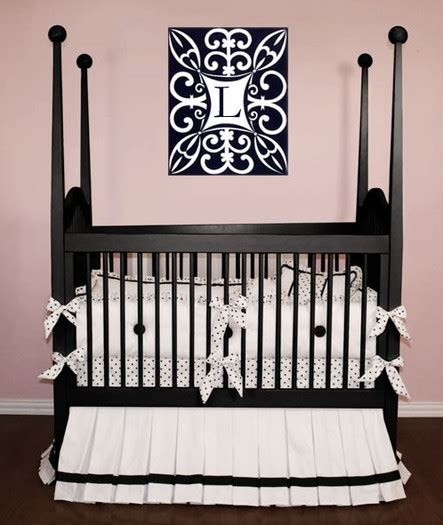 Lizzie Crib Baby Bedding By Little Bunny Blue Crib Bedding Separates