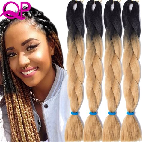 expression hair colors 1piece 24inch kanekalon braiding hair colors xpression
