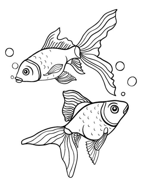 printable coloring pages goldfish printable goldfish coloring page free pdf download at