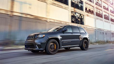 supercharged jeep grand 2018 jeep grand trackhawk supercharged and